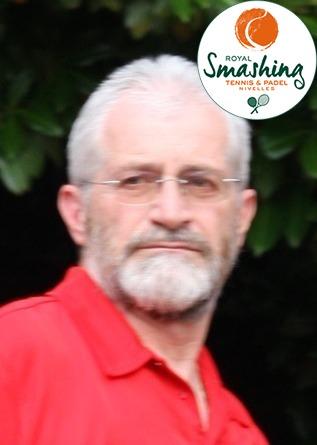 Royal Smashing Club Nivellois - Juge-Arbitre Régional et Arbitre de Club - Didier Demaertelaere