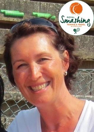 Royal Smashing Club Nivellois - Juge-Arbitre Club et Arbitre de Club - Isabelle Courtois