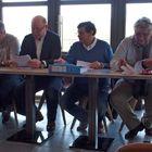 Fabrice Wuyts, Dominique Duluins, Xavier Archambeau, Alain Berghmans, Jean-Marc Brognet, Francis Van Hassel et géraldine Prévinaire