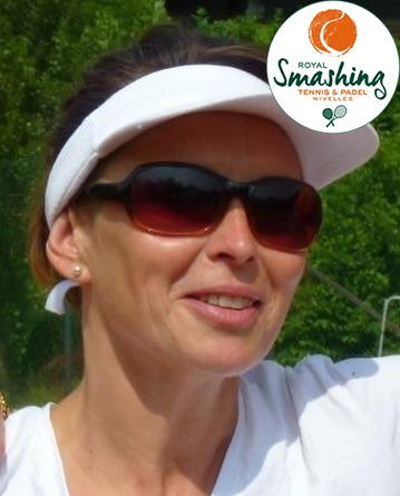 Royal Smashing Club Nivellois - Juge-Arbitre Club et Arbitre de Club - Catherine Michaux