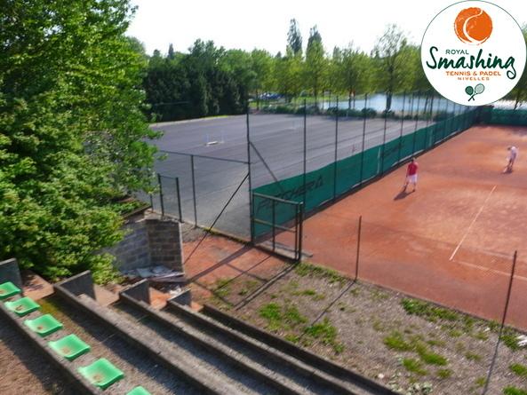 Royal Smashing Club Nivellois - Avancement des Travaux - 2013