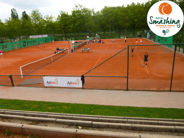 Royal Smashing Club Nivellois - Tournoi de doubles et... plus - Juin 2014