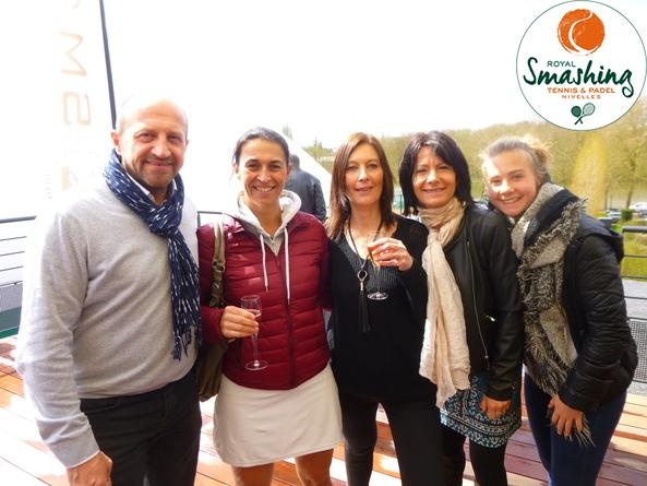 Royal Smashing Club Nivellois - Inauguration Smashing - Avril 2016