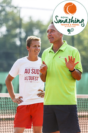 Royal Smashing Club Nivellois - Ecole et Stages de Tennis - Eté 2016