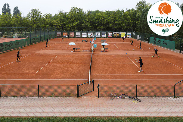 Royal Smashing Club Nivellois - Sporting Club de Charleroi au Smashing - Fin aout 2016