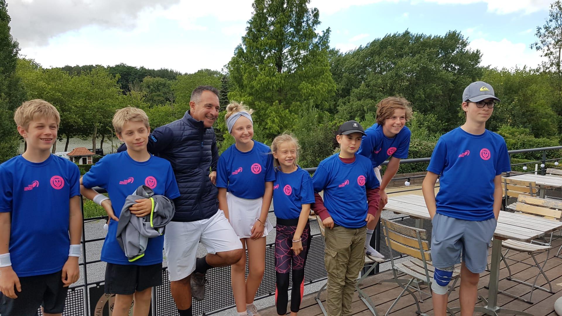 Inscriptions aux stages de tennis pour vos enfants
